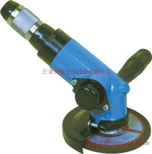 SXJ125x120°气动角向磨光机,SXJ125气动角磨机