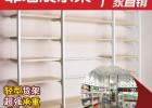 宜诺货架 千韩良品专用货架 服装展示无印良品单面靠墙展示架