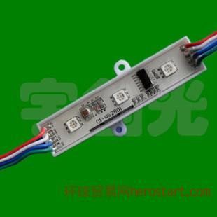 宇创光爆款led点控模组 3灯带IC5050全彩模组