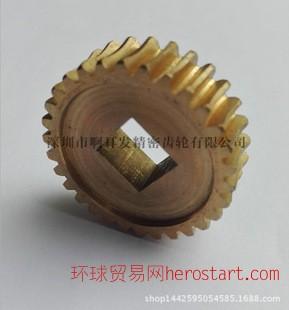 蜗轮蜗杆加工定做 精密小模数齿轮蜗轮