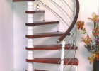 供青海旋转楼梯和西宁阁楼楼梯报价
