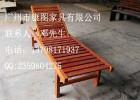 厂家直销户外实木沙滩椅椅 泳池休闲躺椅  庭院防腐木躺椅