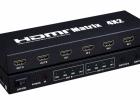 厂家直销hdmi矩阵4*2带音频输出