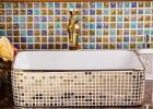 景德镇陶瓷艺术台盆卫生间洗脸盆洗手盆时尚简洁欧式方形台上盆