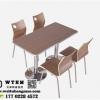 天津板式餐桌椅 餐桌椅尺寸 餐桌椅样式