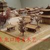 博物馆沙盘,微缩景观模型,古建筑模型,袖珍小木作,展馆模型