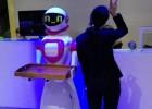 传菜机器人 酒店 饭店 餐饮部传菜机器人 迎宾机器人