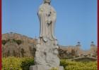 石雕观音 滴水观音雕刻 佛像雕塑加工