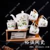 陶瓷咖啡具图片 设计图片兼定做 手绘各类咖啡具