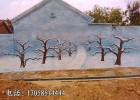 墙绘墙外墙绘画专业文化墙经典农村文化墙