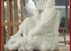 石雕济公 济公雕塑 定做济公佛像