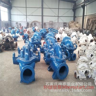 100HW-5农田灌溉泵 大流量排水泵 卧式混流泵