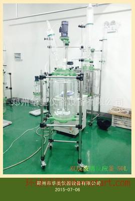 RAT-100L双层玻璃反应釜 双层玻璃反应釜 实验室多功能反应釜