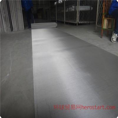 尚冠厂家直供100目不锈钢斜纹编织网 1.2米宽13丝304不锈钢过滤网