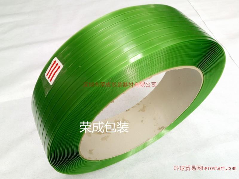 绿色塑钢打包带大拉力不开裂