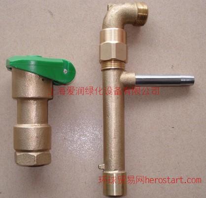DN25铜快速取水阀 铜取水阀 铜取水器 铜方便体