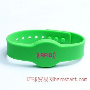 RFID桑拿手牌健身手牌洗浴手牌 RFID手腕带 IC智能卡 手表带IC卡