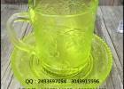 精美玻璃咖啡杯 彩色玻璃咖啡把杯 厂价甩卖