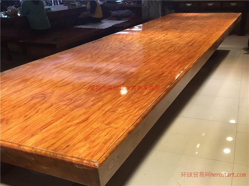红玫瑰红木大板价位合理你值得拥有|凭祥红木大板