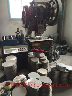 410、201厂家承接各种不锈钢圆片定做 五金冲压大小配件加工