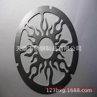 不锈钢钣金加工 激光切割定制雕花加工 304不锈钢