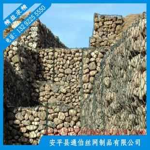 格宾石笼网/热镀锌河道三捻六角网石笼网标准BS443/石笼网垫河北