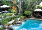 上海专业别墅庭院绿化设计施工,防腐木景观制作