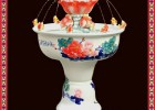 陶瓷流水养鱼喷泉 景德镇陶瓷喷泉厂家批发