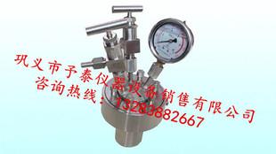 CF-10L简易不锈钢高压釜 厂家直销 品质保证