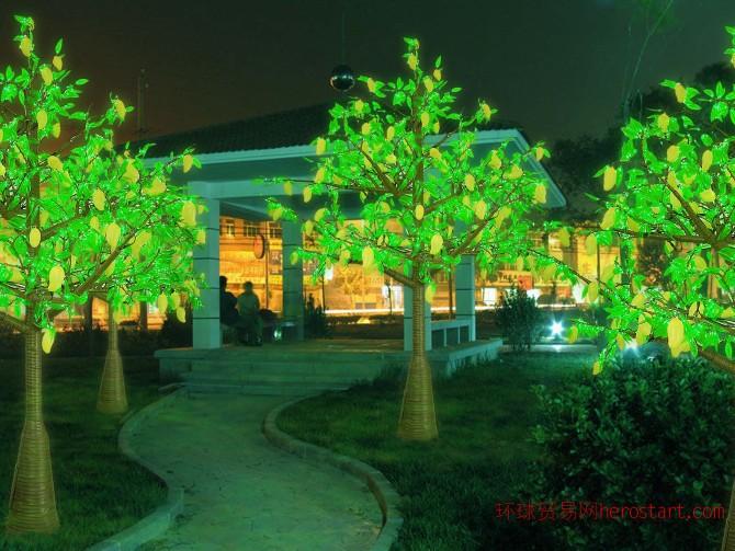 供应LED树灯樱花树仿真树苹果树,灯会灯海灯光