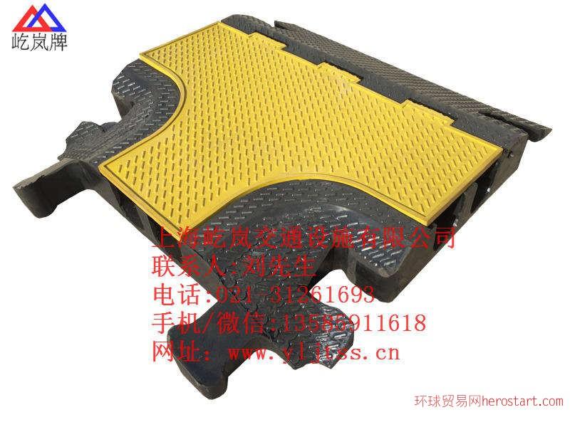 线槽板 橡胶线槽板 电缆过线板 (56)
