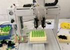 三轴平台全自动点胶机 PUH热熔胶打胶机灌胶机