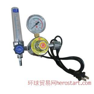 压力表 减压器 南狮二氧化碳电加热减压器 36V/110V/220V
