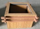 木塑花箱 座凳 户外家具