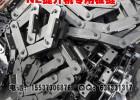 NE15板链斗式提升机专用链条 板式齿轮链条