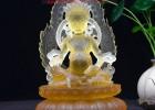 广州琉璃佛像厂家批发定做 黄财神佛像厂家批发定制