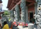 寺庙龙柱石雕 石雕龙柱高清大图 龙柱厂家