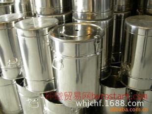 武汉供应不锈钢供粉桶 静电喷涂粉桶 350*550 厂家直销量大优惠