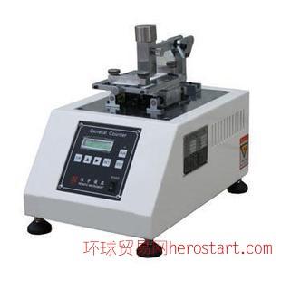 广州皮革摩擦色挠度耐磨试验机价格,皮革色挠度仪使用方法