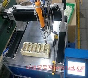 三轴自动锁螺丝机、螺丝机、加工、自动化设备、吹气式、吸气式