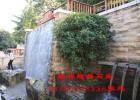 山东石雕喷水墙 水景墙定制