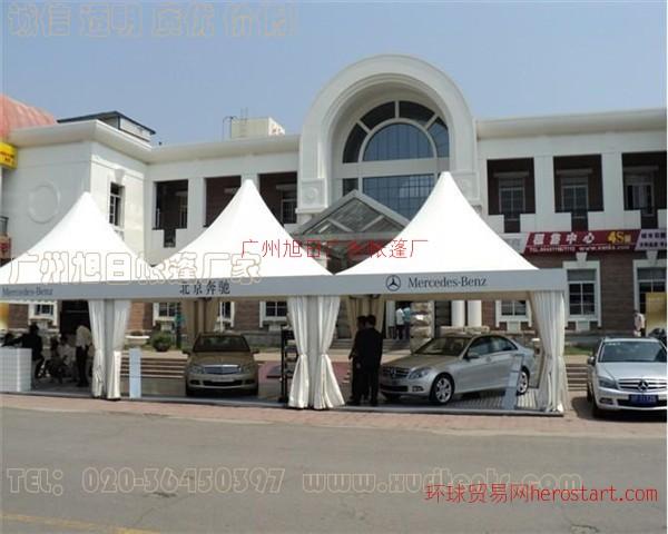 西藏拉萨尖顶帐篷