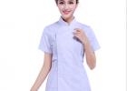 供应中山医院耐高温耐氯漂短袖分体护士服