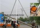 信任通线路工具厂直销铝合金三脚架立杆机10--15米