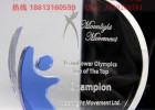中山水晶奖杯定做,中山水晶奖牌纪念品 中山大学周年纪念礼品