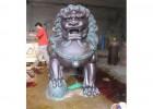中国铜雕产业网,供给狮子铜雕工艺品摆件