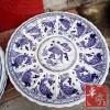 纪念礼品瓷盘价格 优质盘子批发 定做陶瓷大盘厂家