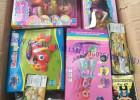 优迪库存玩具芭比娃娃类按斤卖,各种盒装芭比为主,低价称斤批发