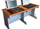 托克拉克TKLK-02学生机房电脑桌台面防火板鸭嘴边耐磨