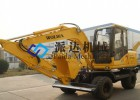 WOLWA/沃尔华轮式挖掘机整机LS885-9M 原厂保证